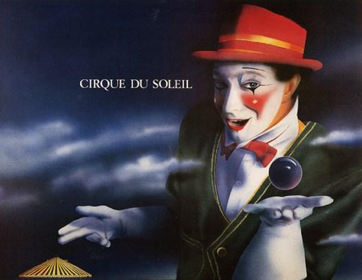 Cirque du Soleil - affiche 1986