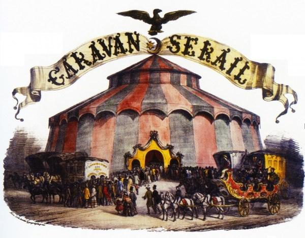 Le Caravansérail - chapiteau