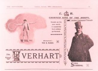 William Everhart à Londres