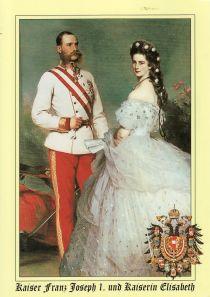 Kaiser und Kaiserin -portrait