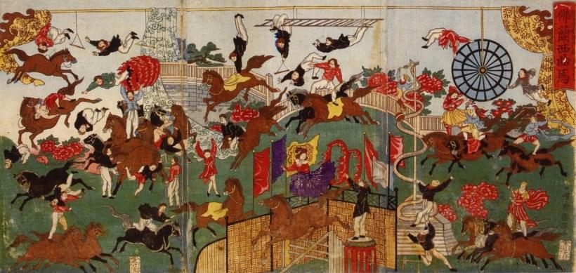 Le spectacle de Soullier - 1871