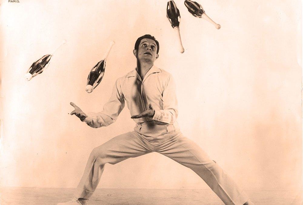 Pierre Bel, jongleur international