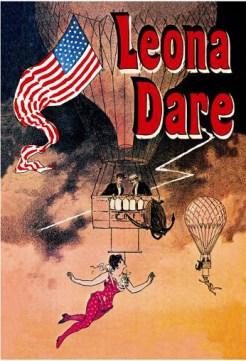 Leona Dare en ballon - affiche