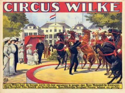 Circus Wilke - chevaux