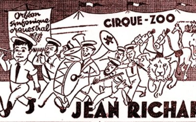 Cirque Zoo Jean Richard : première enseigne