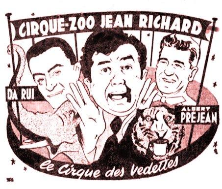 Da Rui, Jean Richard et Albert Préjean - annonce depresse