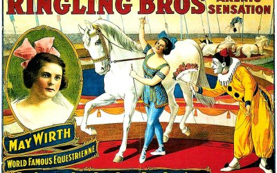 May Wirth, étoile d'or du Cirque