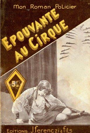 Epouvante au Cirque - couverture