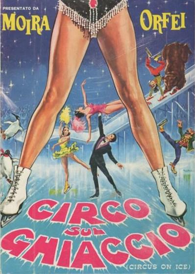 Circo sul Ghiaccio - affiche