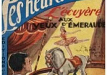 L'écuyère dans les petits romans de cirque