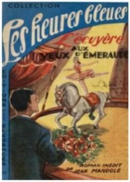 couverture de l'écuyère... roman