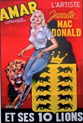 Jeannette Mac Donald chez Amar