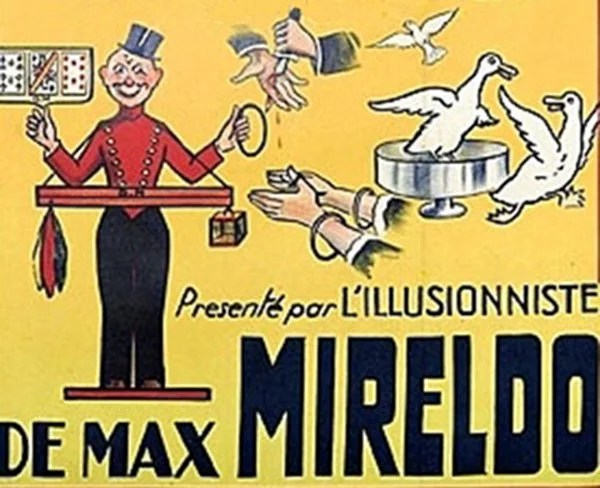 Mireldo le magicien des grandes illusions