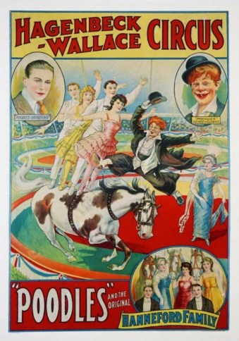 Poodles - Hagenbeck-Wallace Circus