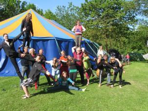 Circus kamp - 2013