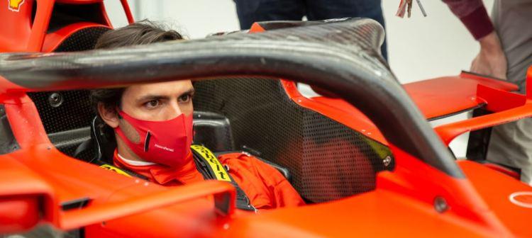 F1, Carlos Sainz per la prima volta oggi su una Ferrari [ FOTO e VIDEO ]