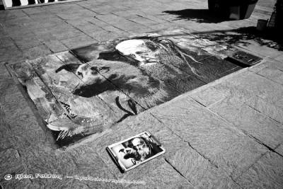 Finished piece on Sunday, Street Art in Valletta