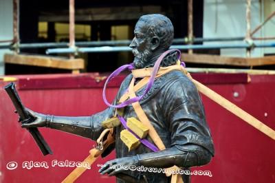 Statue Grand Master Jean de Vallette in Valletta