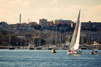 Finish Line,Maltese,sail boat, 2013 Rolex Middle Sea Race,Oiltanking Juno,J-133,David Anastasi, Sonke Stein
