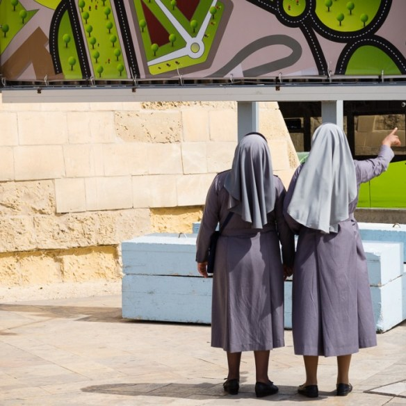 Which way to the Lord,Nuns,Valletta,Shot these two weeks