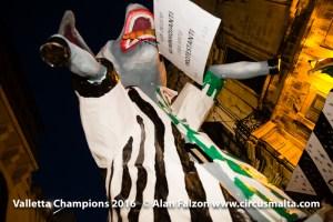 Valletta FC Champions 2016 Funeral