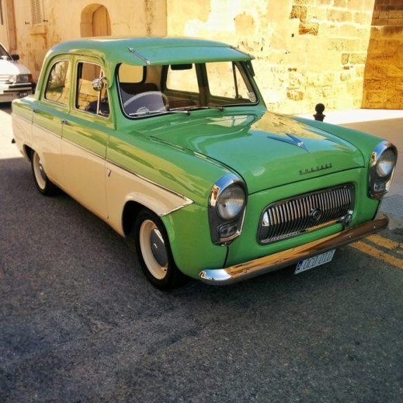 Prefect. Classic car, Gozo