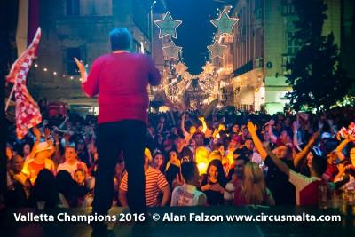 Valletta FC Champions,Football,Valletta,Republic Street