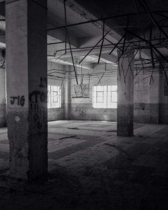 Abandoned warehouse.