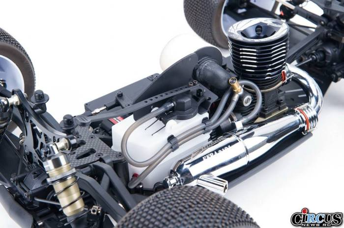S350T Pro Truggy partie moteur