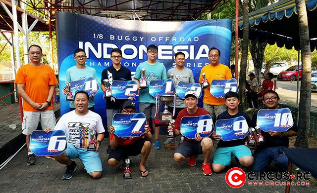 Indonesia Nats Championship Rd5 overall