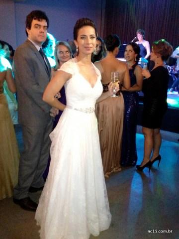 Number one A noiva Marina... Morena, linda e feliz