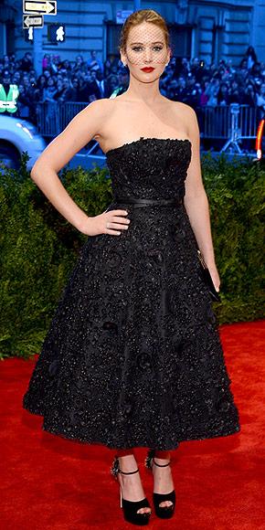 Jennifer Lawrence e o seu Dior é o número 3