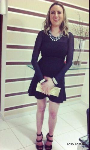 Vestido: Dres To Sandália: Arezzo Colar: C&A Bolsa e pulseiras: acervo pessoal