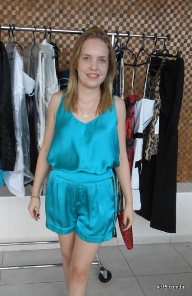 Conjunto verde super it Shorts: 220 Blusa: 170