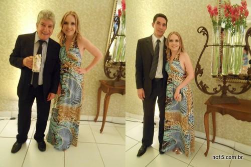 Com o sogrão e o noivo