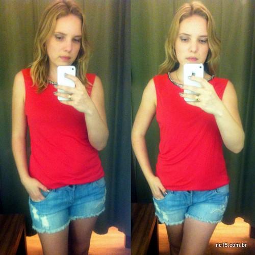 Look 2 Blusa: 69,90 Shorts: 69,90
