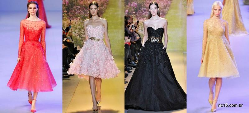Inspirações convidadas da alta costura de Paris