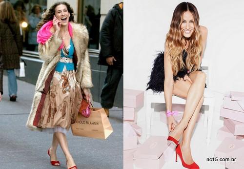 Sarah Jessica Parker lança coleção de sapatos