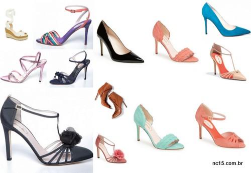 sapatos da linha da Sarah Jessica Parker
