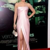 Kristen Bell: traída por um lindo vestido