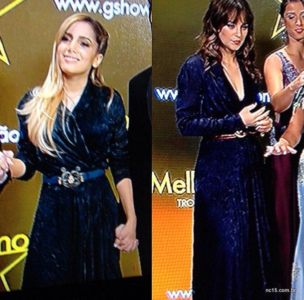Bitch Stole My Look! Anita contra Paola Oliveira, quem vestiu melhor o mesmo look?