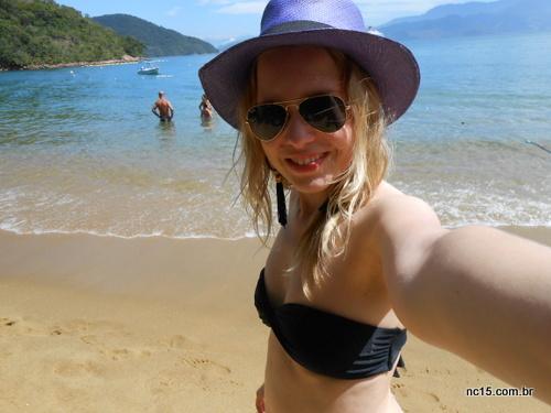 Look praia para Ilha Grande