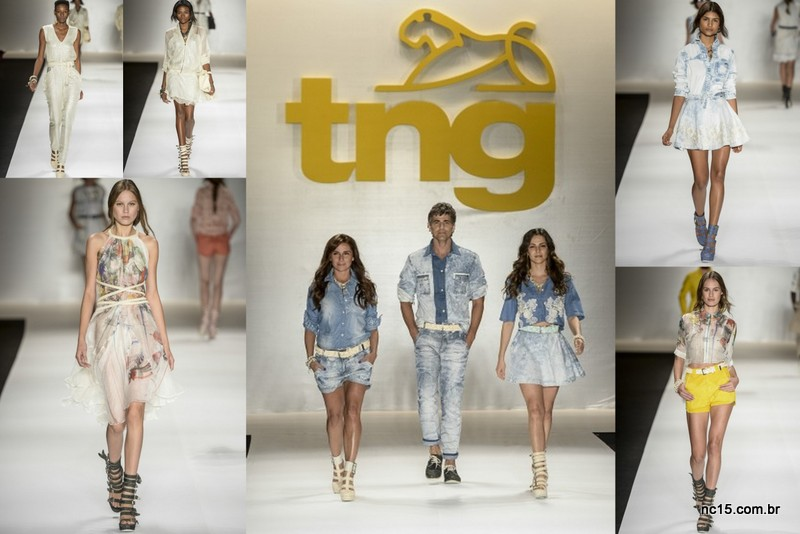 Desfile da TNG no fashion Rio