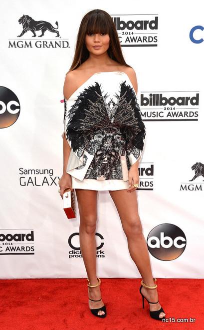 Chrissy Teigen no  Billboard Music Awards