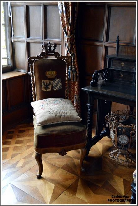 Dentro do Castelo Stolzenfels... Tudo bem preservado e custa 4€ por pessoa a visita guiada