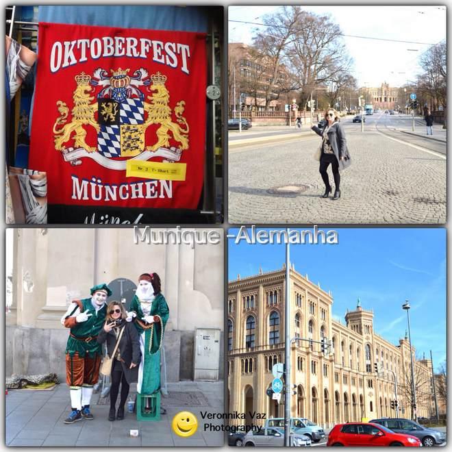 Conhecendo um pouco a cidade de Munique, na Alemanha, e um pouco da oktoberfest
