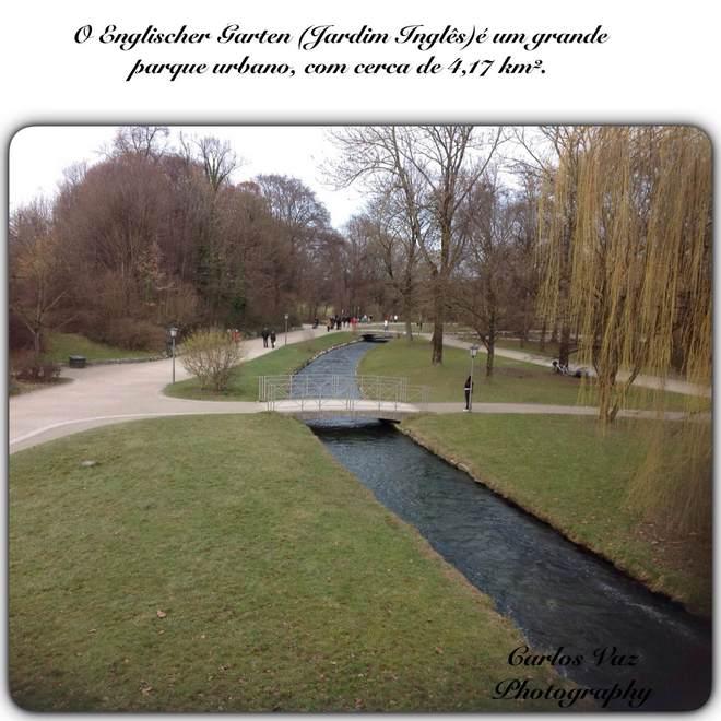 jardim Inglês em Munique