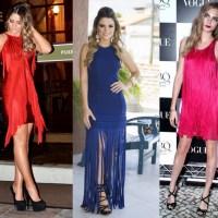 Aposta fashion: franjas e todo o seu balanço
