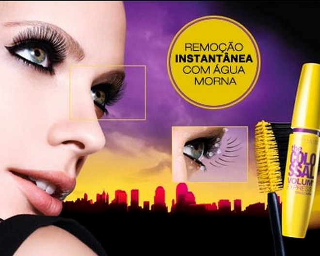 Máscara The Colossal Super Filme da Maybelline