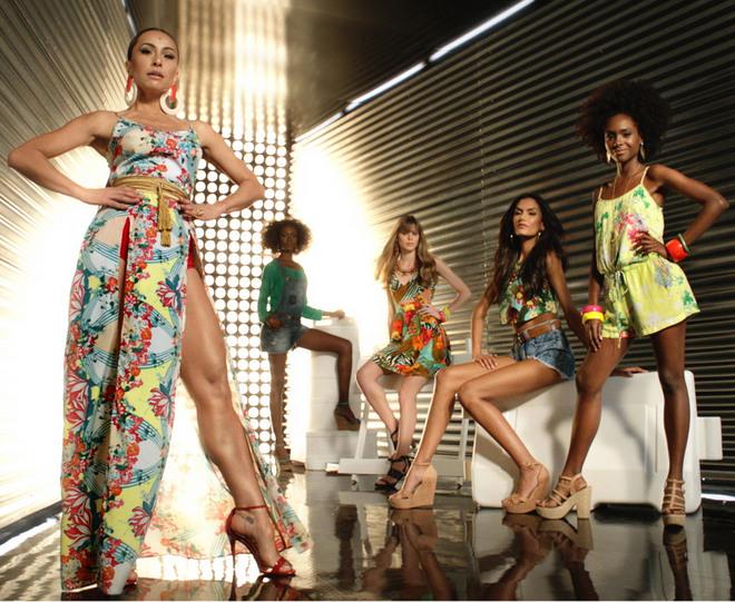 Sabrina Sato é a estrela da terceira edição da coleção Poderosas do Brasil da C&A